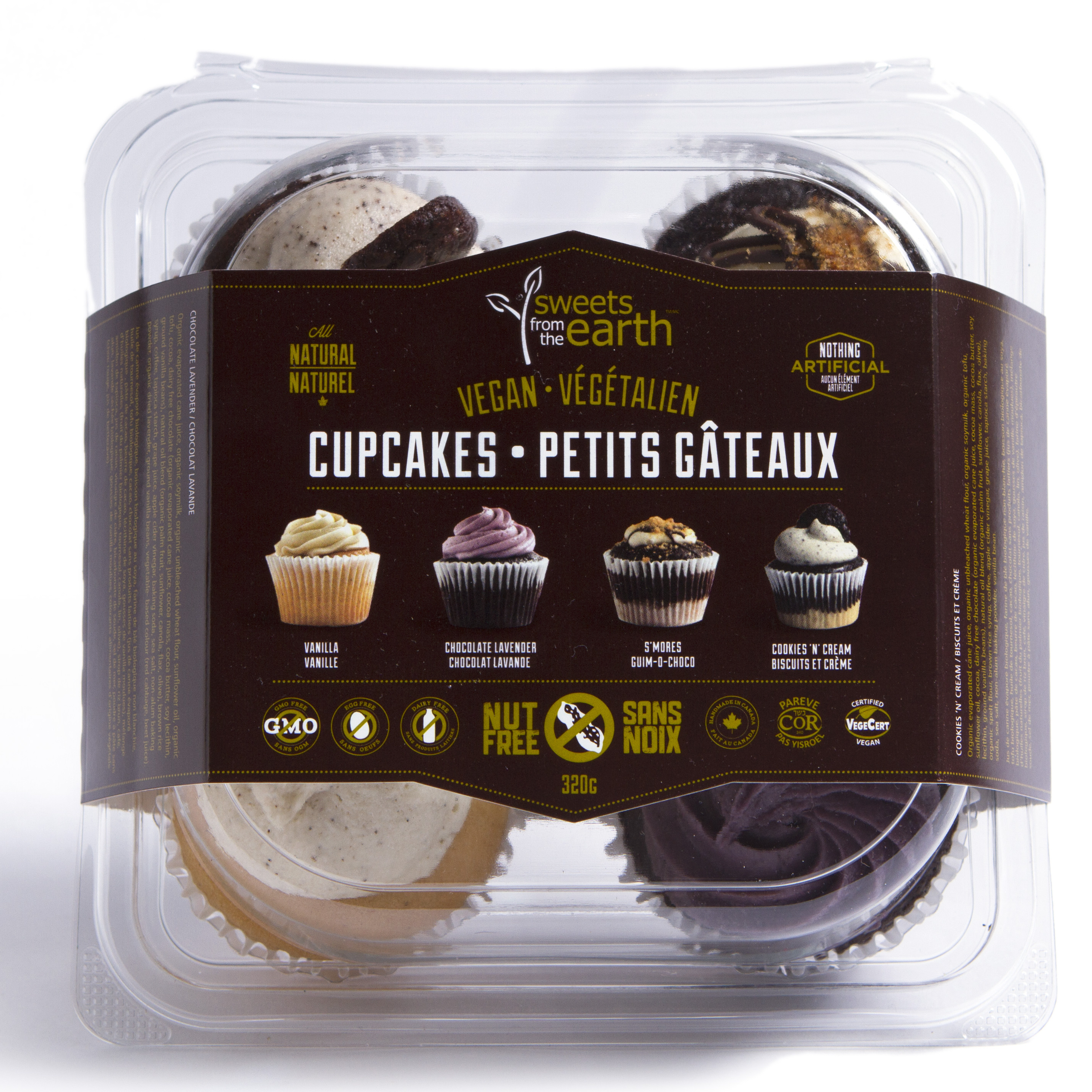 Assorted Cupcake 4-pack front