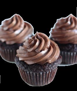 NF Chocolate chocolate cupcake trio