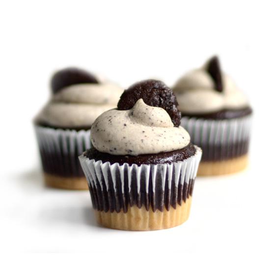 NF Cookies 'n Cream cupcake trio