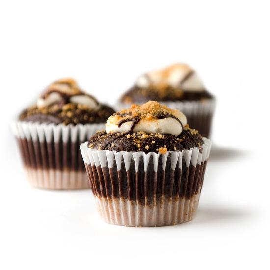 NF S'mores cupcake trio