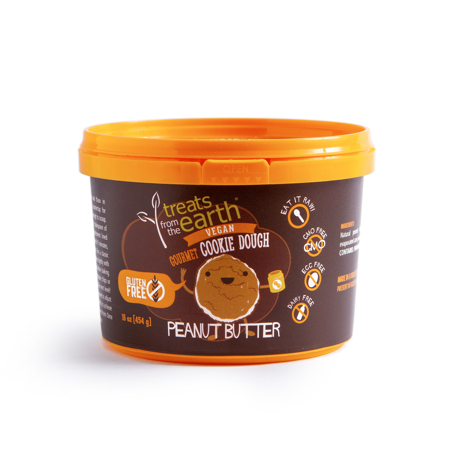 TFTE GF Peanut Butter Cookie Dough pail front